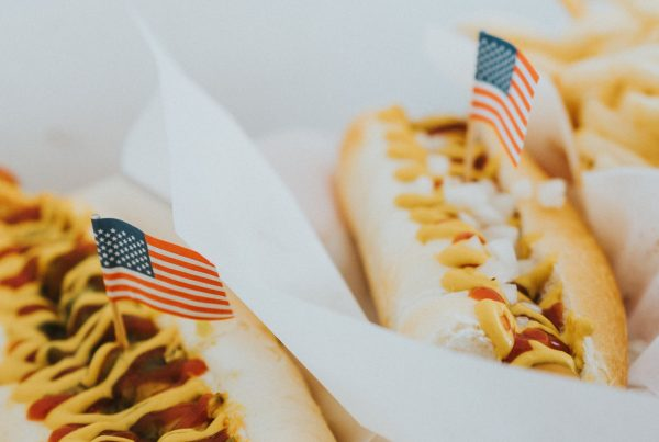 Hot-Dog for Independence Day