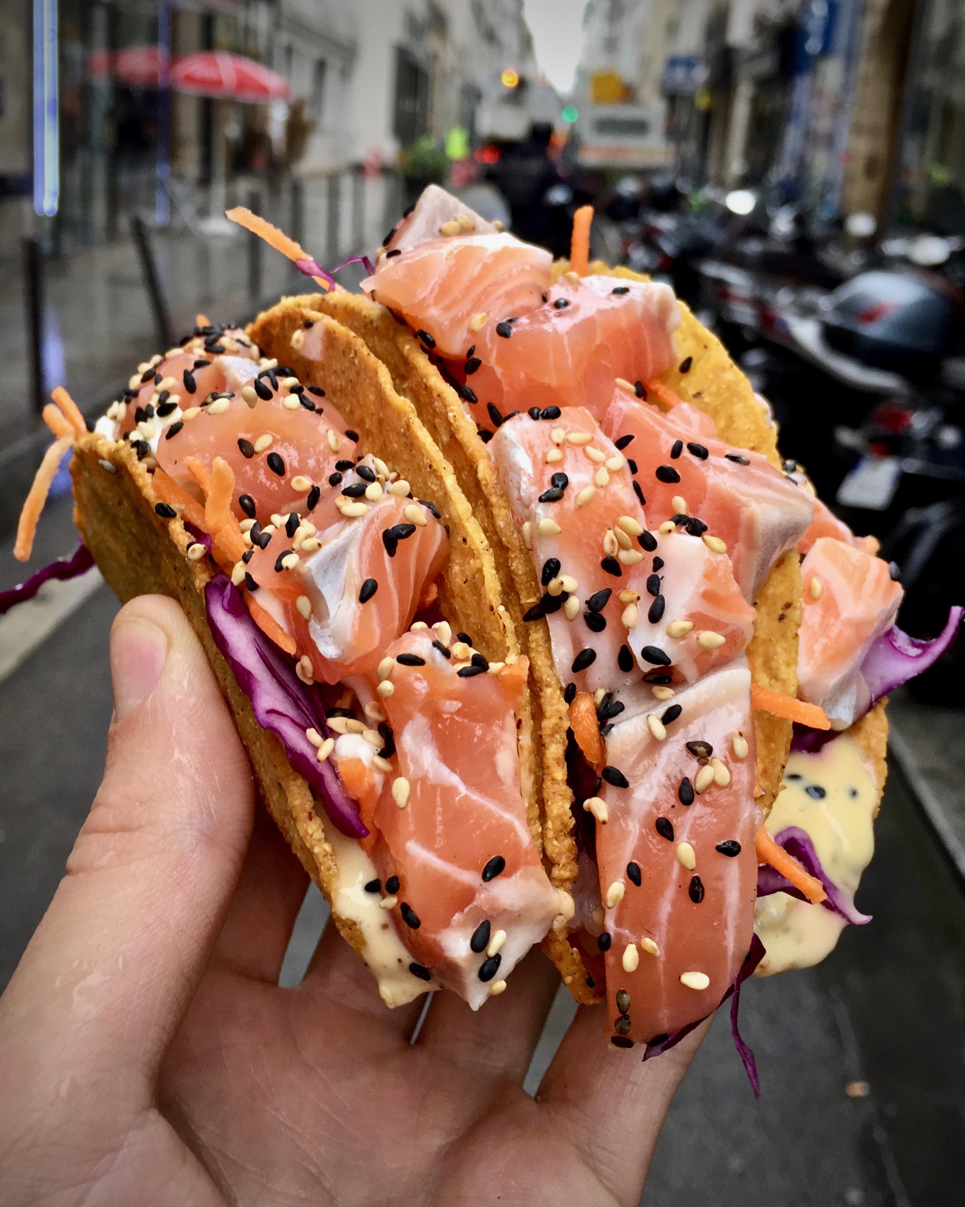 Sushi Tacos